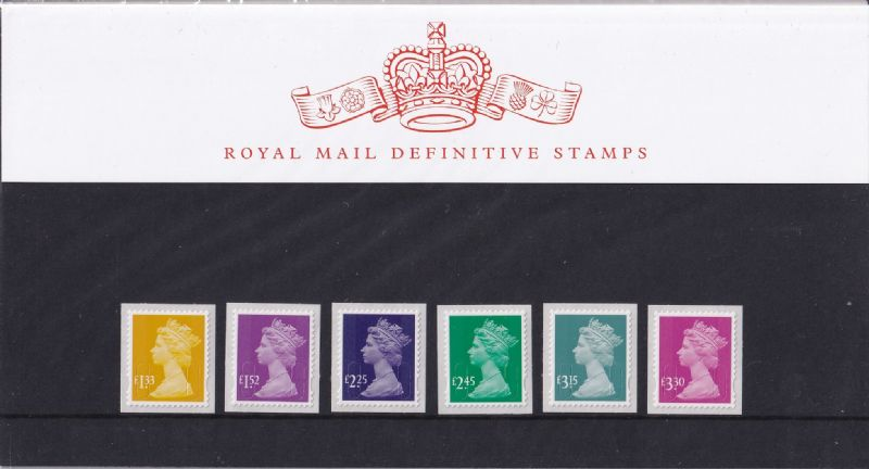 2015 Machin Definitive Stamps Presentation Pack No 101